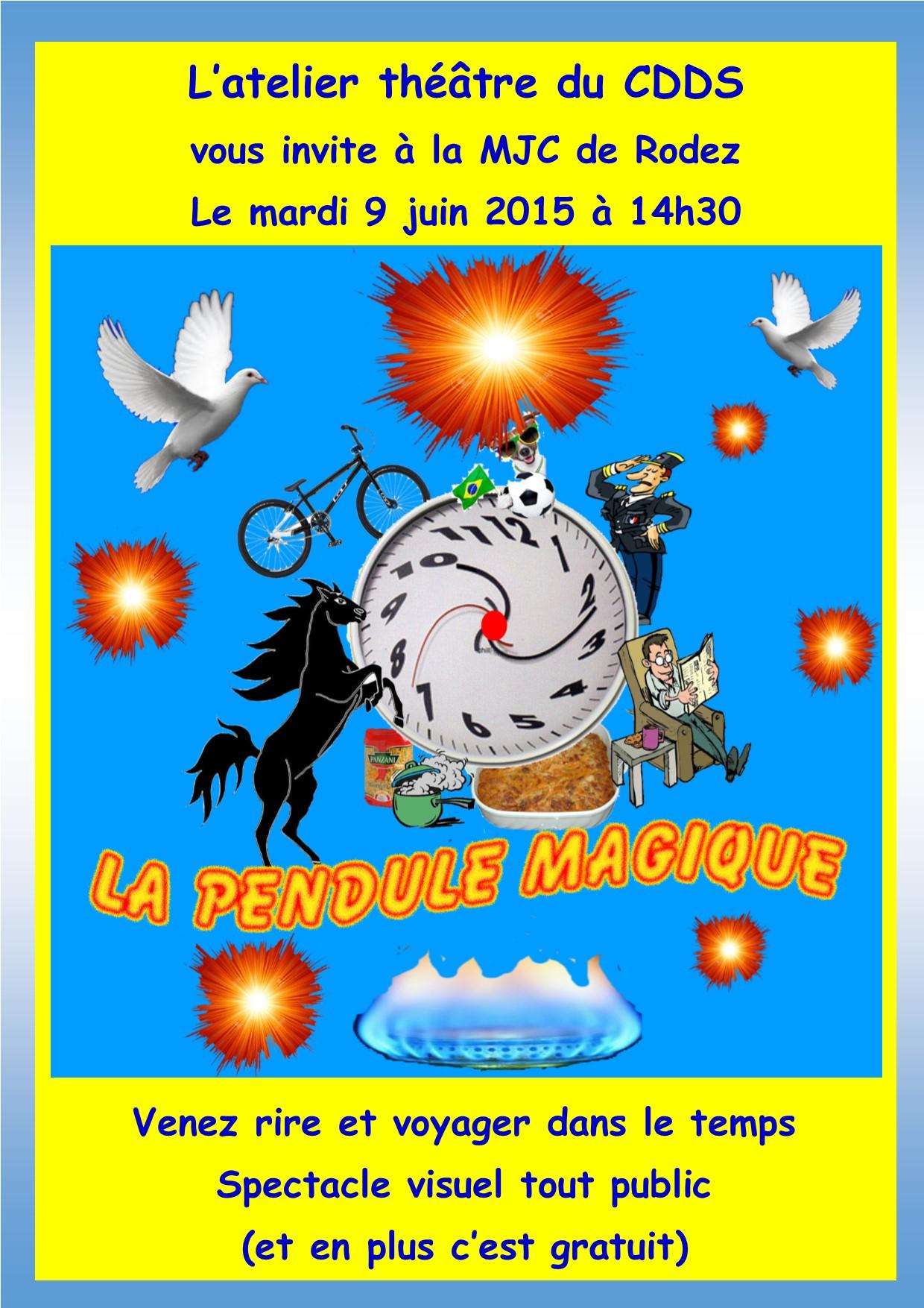 Affiche La Pendule Magique 2015